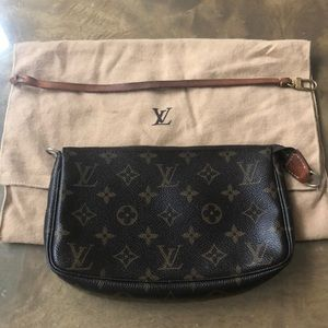 Authentic Monogram Louis Vuitton Pochette
